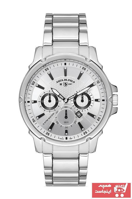 خرید انلاین ساعت مردانه 2021 برند Aqua Di Polo 1987 رنگ نقره کد ty103754589