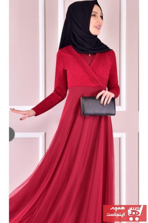 خرید انلاین لباس مجلسی زیبا زنانه ZEN-N رنگ قرمز ty103858548