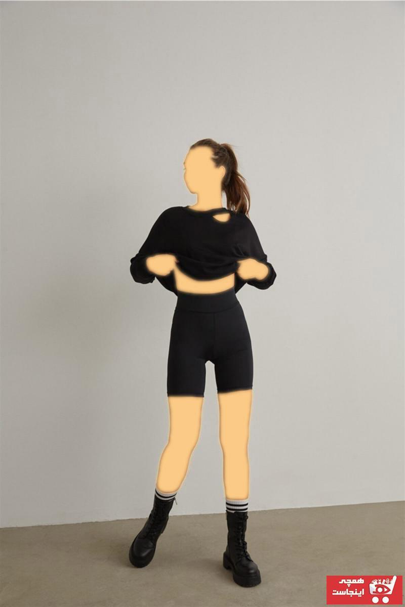 لگ ورزشی زنانه 2021 برند FATRA رنگ مشکی کد ty103873297