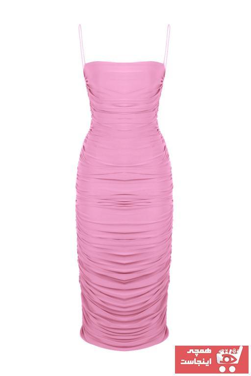لباس مجلسی زیبا زنانه برند Whenever Company رنگ صورتی ty103875493