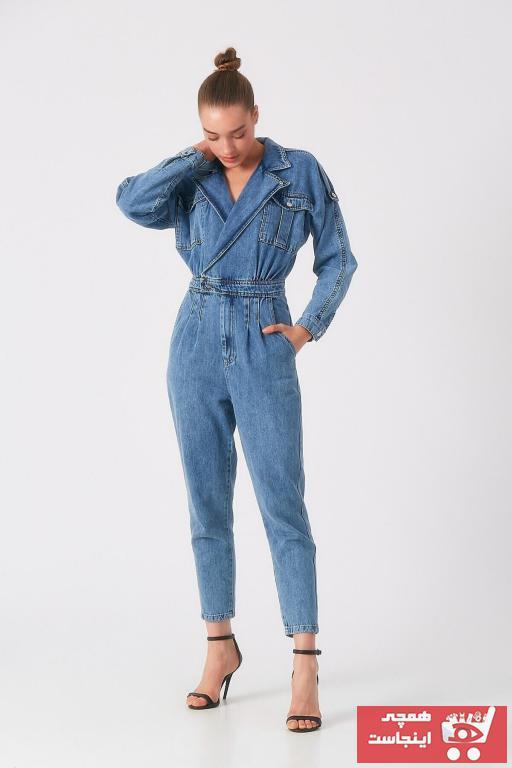 خرید پستی تولوم زنانه پارچه نخی برند DC Emila Butik رنگ آبی کد ty103979503