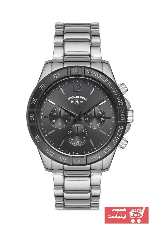 خرید ارزان ساعت مردانه  مارک Aqua Di Polo 1987 رنگ نقره کد ty104048679