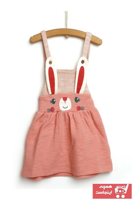 ست لباس مجلسی نوزاد دخترانه برند PODİUM GİYİM رنگ صورتی ty104074852