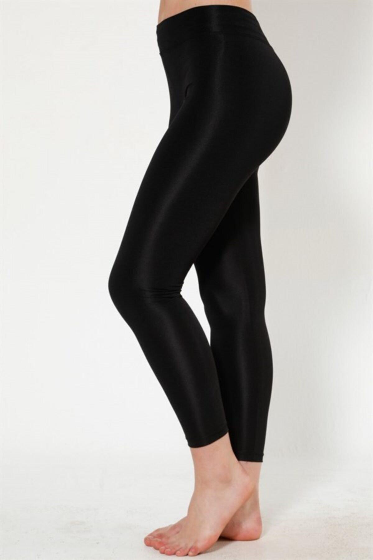خرید پلگی لگ ورزشی زنانه پارچه نخی برند BASSKAN رنگ مشکی کد ty104127841