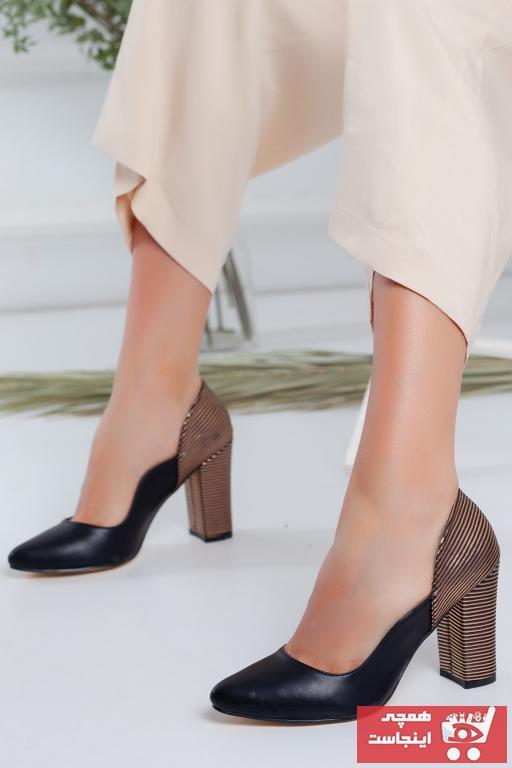کفش پاشنه بلند مجلسی زنانه شیک مجلسی برند Radikal رنگ مشکی کد ty104161153