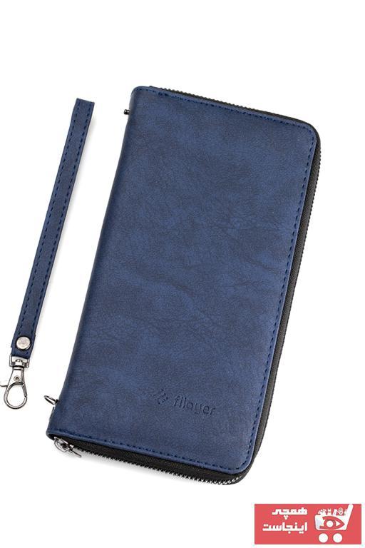 کیف پول مردانه مارک دار filayer رنگ آبی کد ty104178669