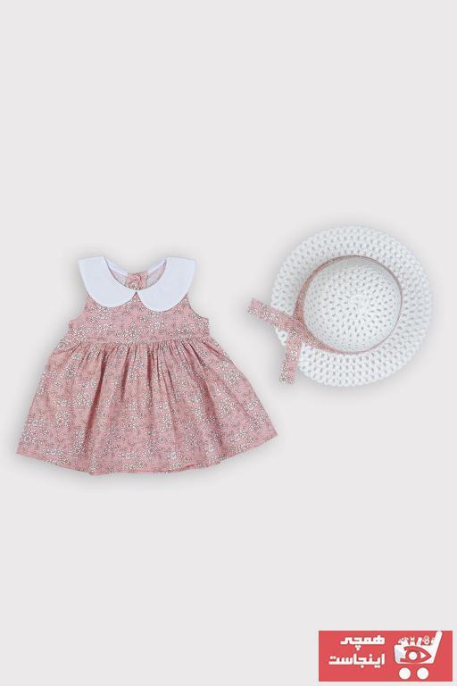 لباس مجلسی نوزاد دخترانه فانتزی برند Le Love Kids رنگ صورتی ty104198801