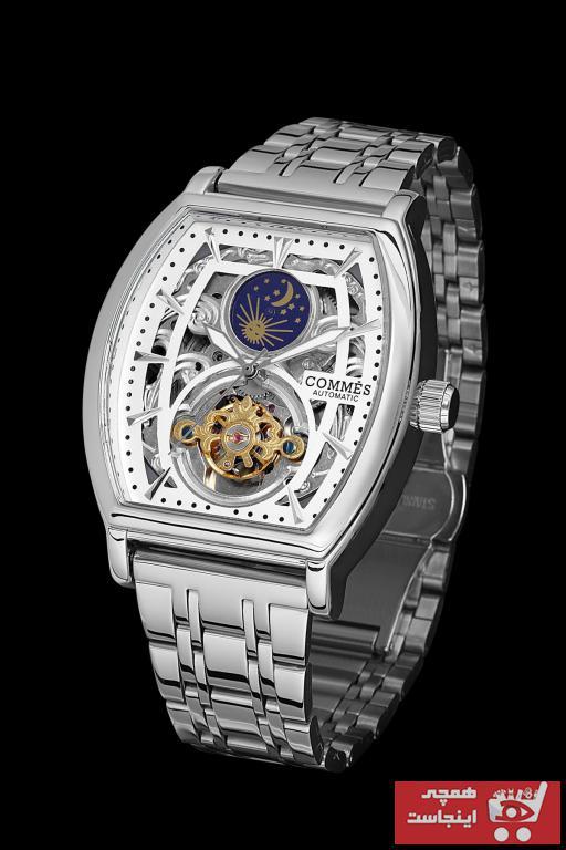 خرید ساعت مچی مردانه  برند COMMES رنگ نقره کد ty104337487