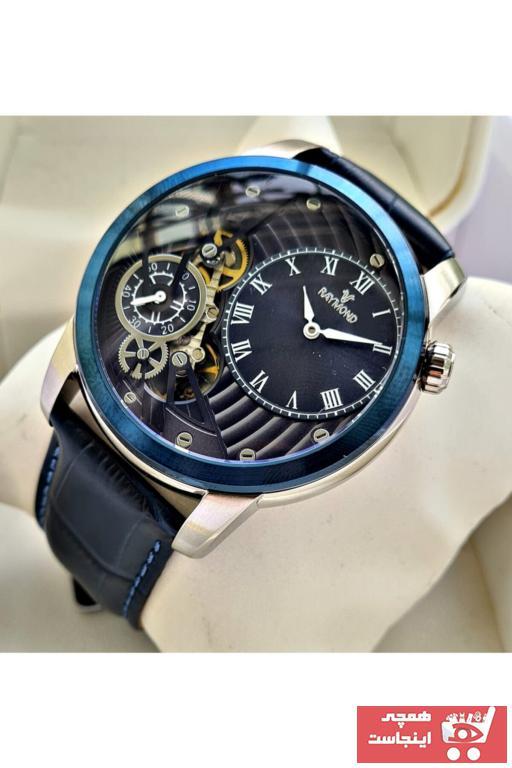 درخواست ساعت مردانه برند Raymond رنگ نقره کد ty105208720