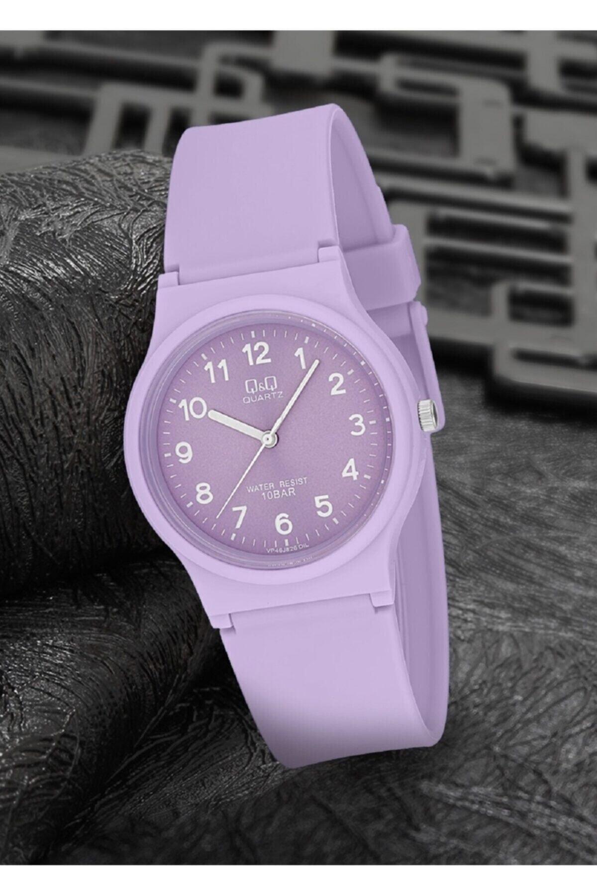 خرید ساعت نخی برند Q&Q رنگ بنفش کد ty109013518
