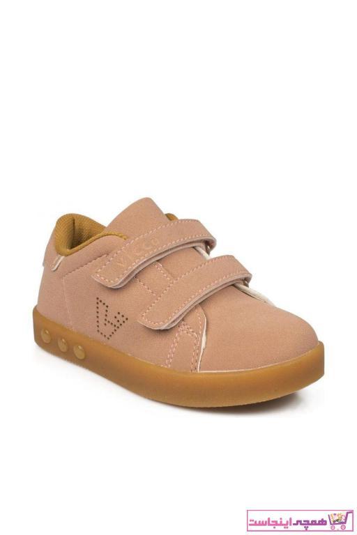 خرید پستی کفش پیاده روی نوزاد دخترانه پارچه نخی برند Vicco رنگ صورتی ty13180309