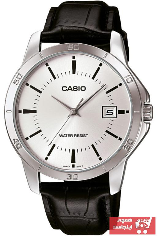 خرید انلاین ساعت مردانه اورجینال برند کاسیو رنگ مشکی کد ty1925557
