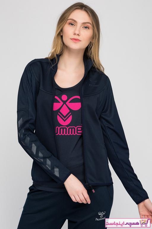 فروش گرمکن ورزشی زنانه ترک ارزان مارک هومل رنگ آبی کد ty2202635