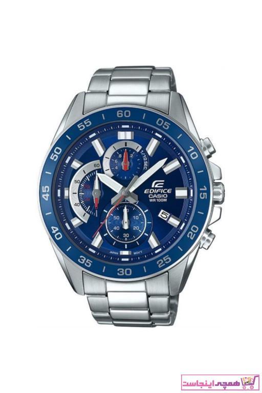 ساعت مردانه طرح دار برند کاسیو رنگ آبی کد ty2669110