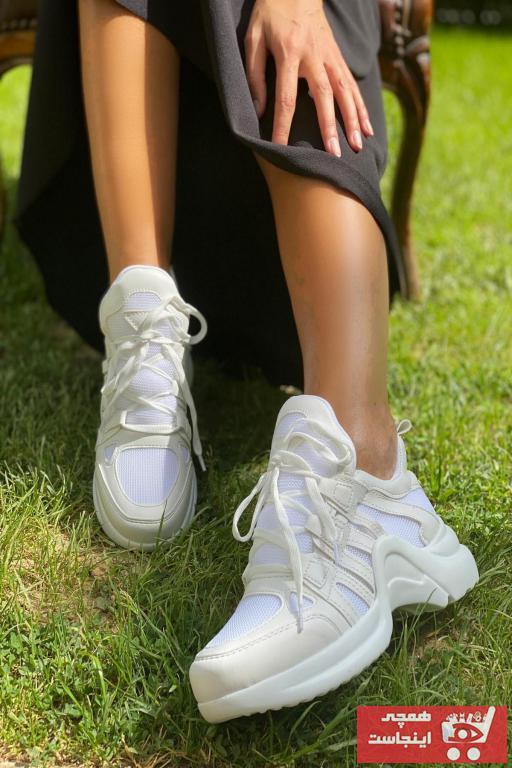 فروشگاه اسپرت اورجینال برند İnan Ayakkabı رنگ سفید FİLE ty2995626