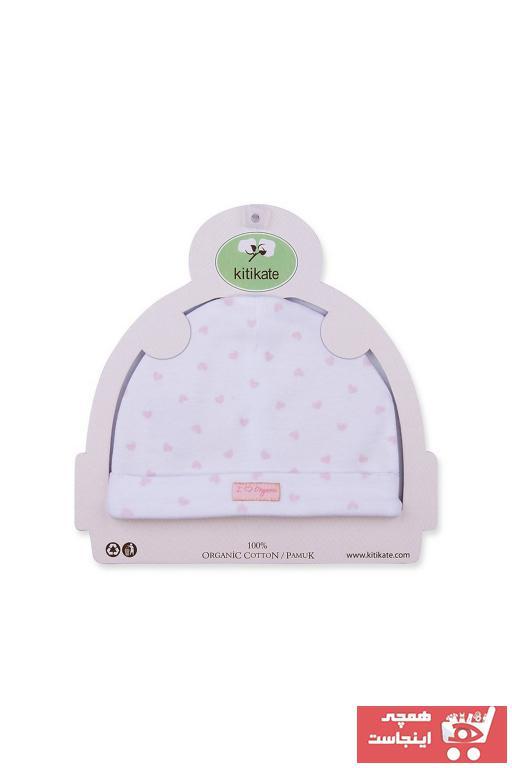 فروش کلاه نوزاد پسر 2021 برند Baby Center رنگ صورتی ty3000905