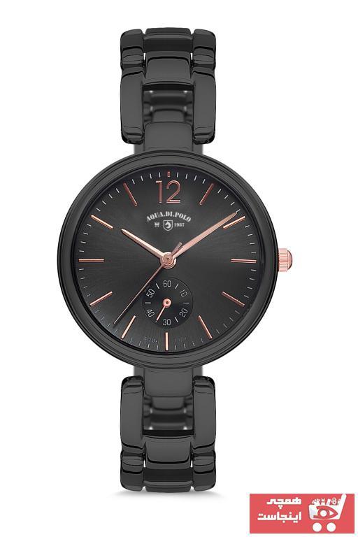 فروش ساعت زنانه  مارک Aqua Di Polo 1987 رنگ مشکی کد ty31273263