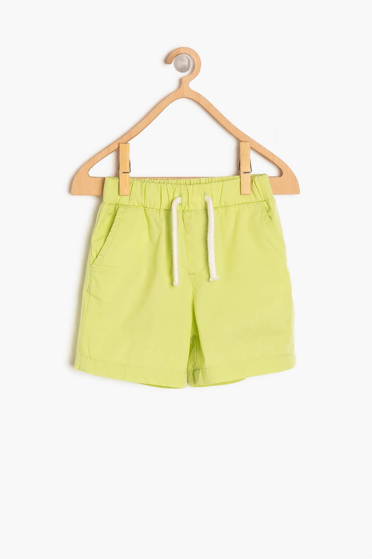 خرید انلاین شلوارک طرح دار برند Koton Kids رنگ سبز کد ty3132397