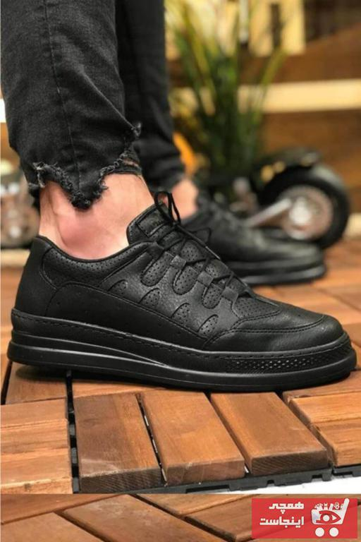 خرید اینترنتی کفش اسپرت خاص مردانه برن Chekich رنگ مشکی کد ty31651619