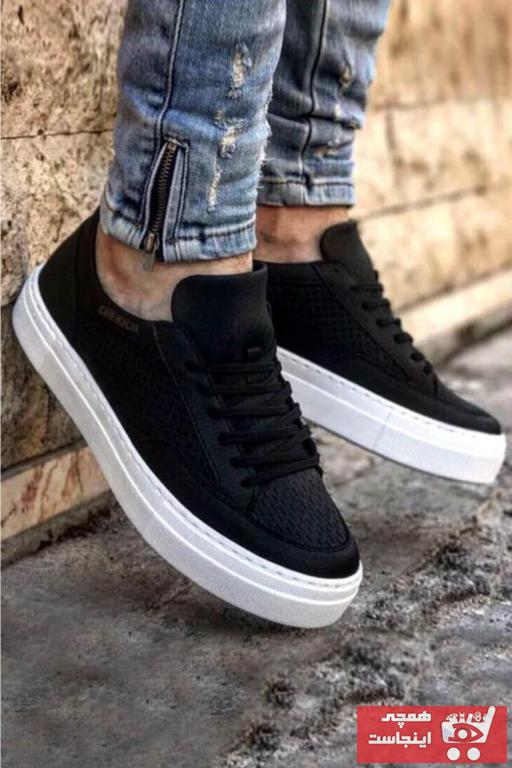 کفش اسپرت جدید مردانه شیک برن Chekich رنگ مشکی کد ty31651622