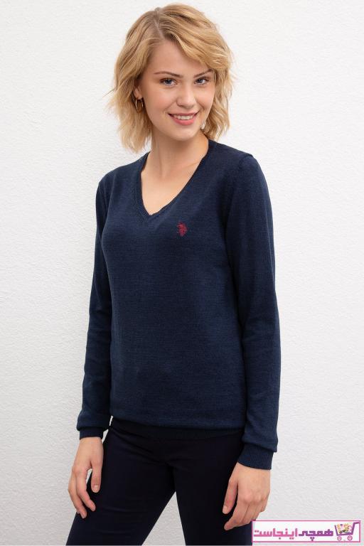 پلیور زنانه مارک برند U.S. Polo Assn. رنگ لاجوردی کد ty31675821