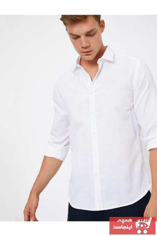پیراهن کلاسیک زمستانی مردانه برند کوتون کد ty31715132