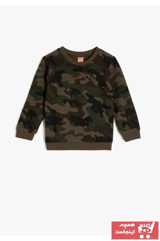 سویشرت نوزاد پسر قیمت برند Koton Kids رنگ سبز کد ty31759439
