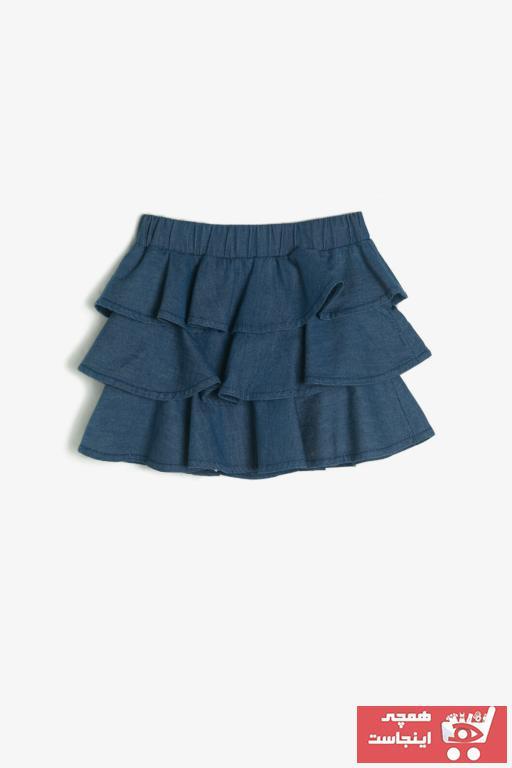 فروش دامن نوزاد دخترانه 2021 برند Koton Kids رنگ آبی کد ty31759847