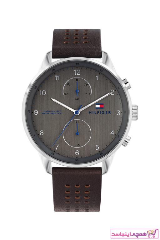 فروش پستی ساعت مچی مردانه برند تامی هیلفیگر رنگ قهوه ای کد ty31908150