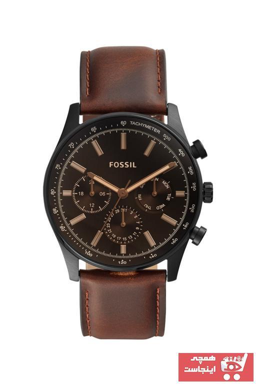 ساعت مردانه مدل 2021 برند Fossil رنگ قهوه ای کد ty31908241