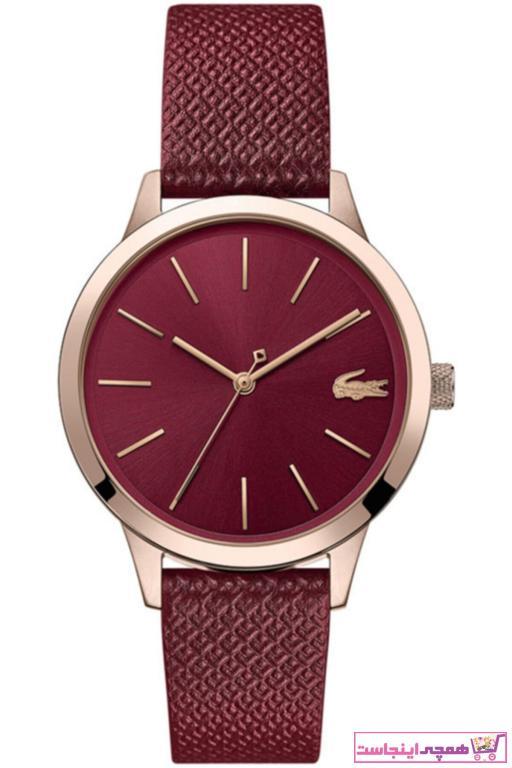 خرید ساعت زنانه جدید برند لاگوست رنگ متالیک کد ty31938855