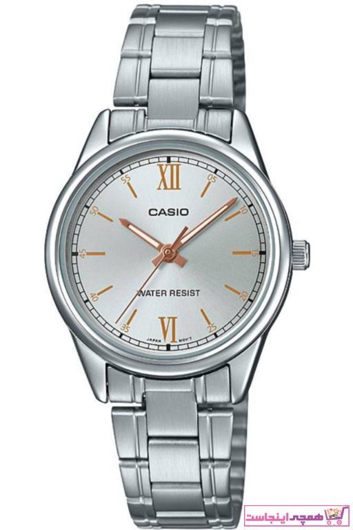 خرید اینترنتی ساعت مچی زنانه برند کاسیو رنگ نقره کد ty32183757