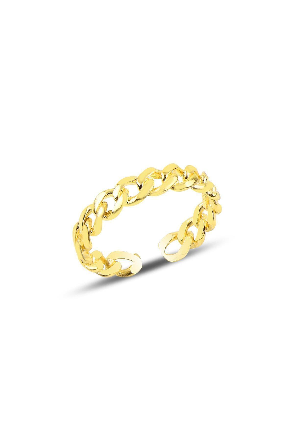 خرید نقدی انگشتر زنانه  برند Söğütlü Silver رنگ طلایی ty32212717
