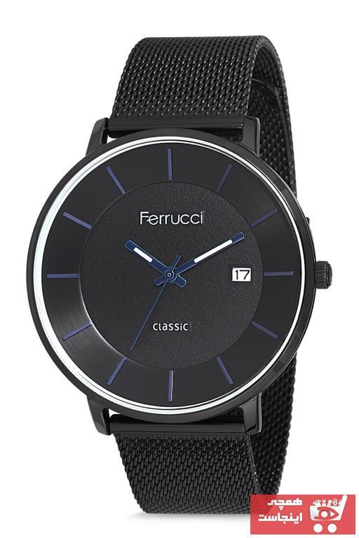 فروش پستی ساعت مردانه برند Ferrucci رنگ مشکی کد ty32427389