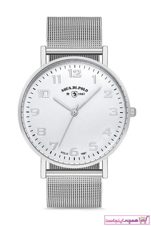 خرید پستی ساعت مچی زنانه  ارزان مارک Aqua Di Polo 1987 رنگ نقره کد ty32430507