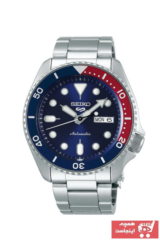 ساعت مردانه اسپرت برند Seiko رنگ متالیک کد ty32498928