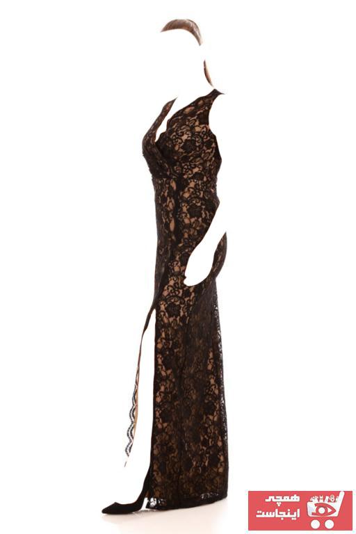 خرید اینترنتی لباس مجلسی بلند برند Carmen رنگ مشکی کد ty32546912