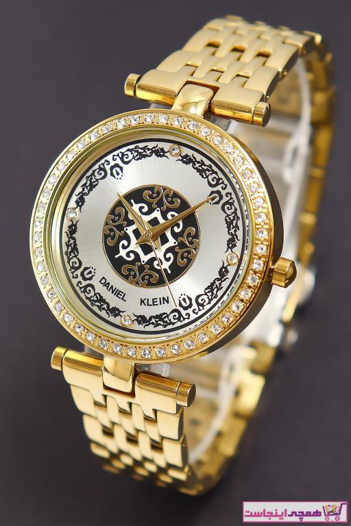 خرید پستی ساعت مچی زنانه لوکس ارزان برند Daniel Klein رنگ طلایی ty32662226