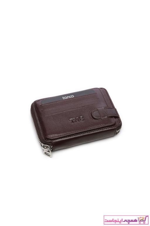 کیف کارت اعتباری مردانه اصل جدید برند کمال تانجا رنگ قهوه ای کد ty33051965