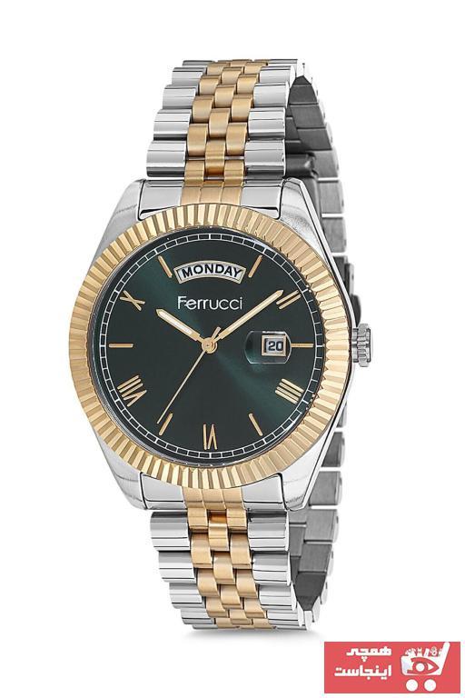 سفارش پستی ساعت مردانه اورجینال برند Ferrucci رنگ متالیک کد ty33134582