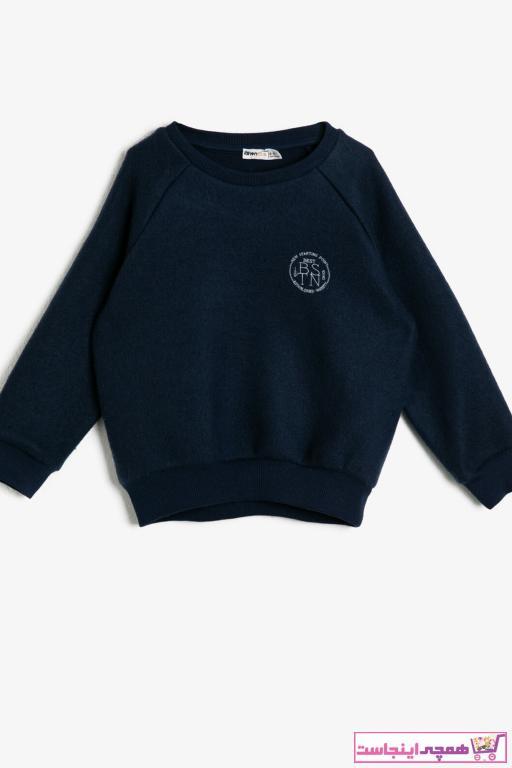 خرید سویشرت خفن برند Koton Kids رنگ لاجوردی کد ty33369045