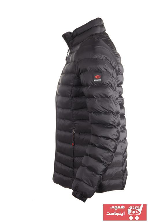 خرید اسان کاپشن ورزشی زنانه پیاده روی جدید برند Cresta رنگ مشکی کد ty33507857