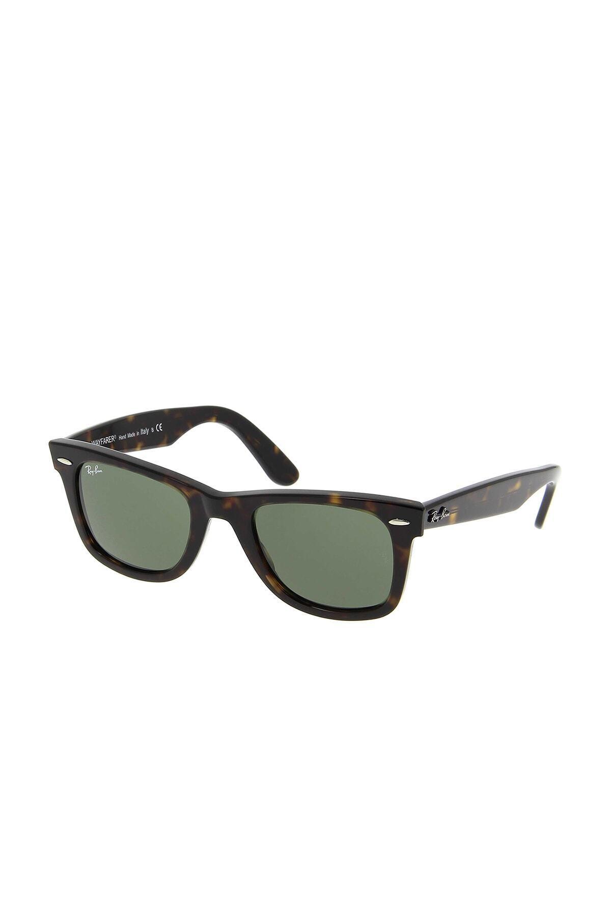 عینک آفتابی خفن برند ری بن رنگ قهوه ای کد ty33508166