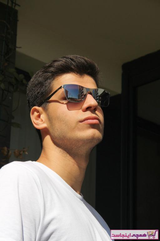 فروش پستی عینک دودی مردانه ترک برند HAWK رنگ نقره کد ty33680700