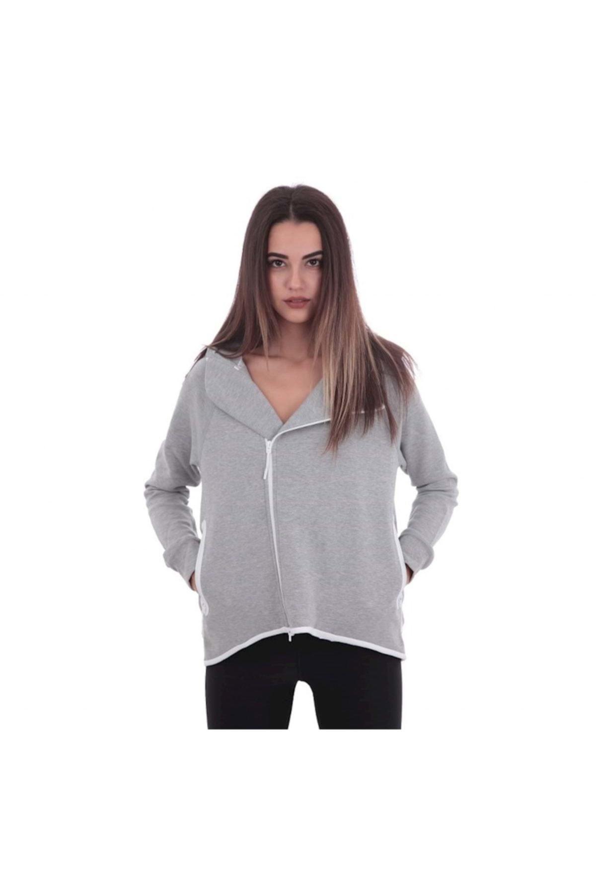 خرید انلاین گرمکن ورزشی زنانه جدید برند نایک رنگ نقره ای کد ty33848178