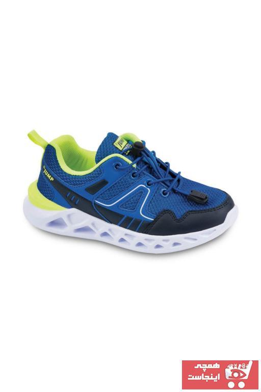 کفش اسپرت بچه گانه پسرانه حراجی برند Jump رنگ آبی کد ty34144612
