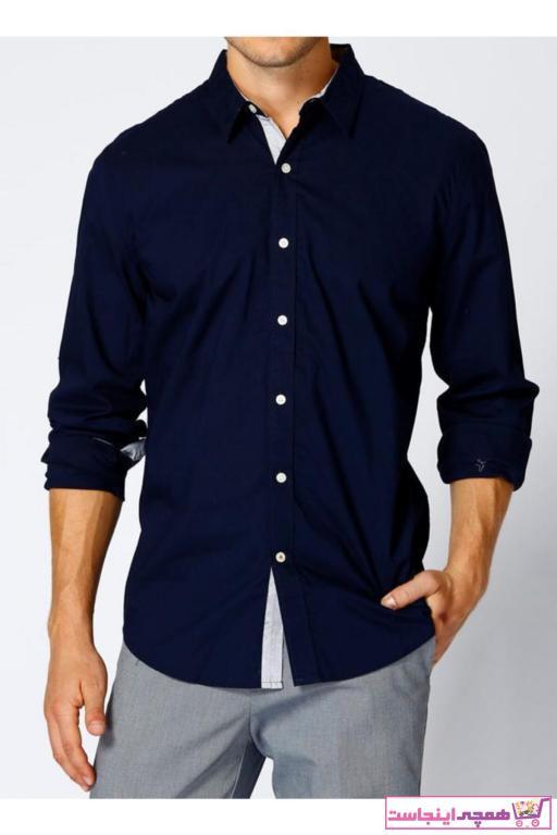 فروش پیراهن کلاسیک جدید برند Dockers رنگ آبی کد ty3452658
