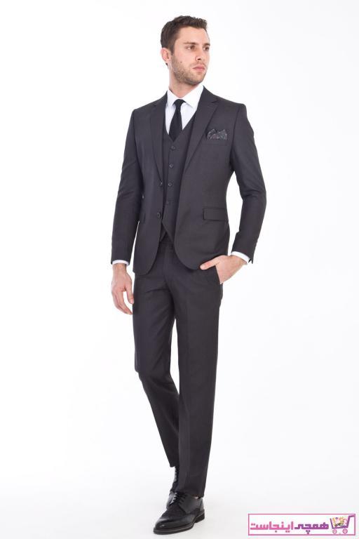 فروش کت شلوار جدید برند Kiğılı رنگ نقره ای کد ty34579262