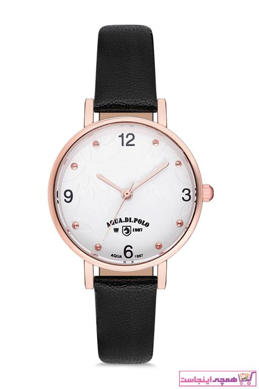 خرید ارزان ساعت زنانه اورجینال برند Aqua Di Polo 1987 رنگ مشکی کد ty34902050