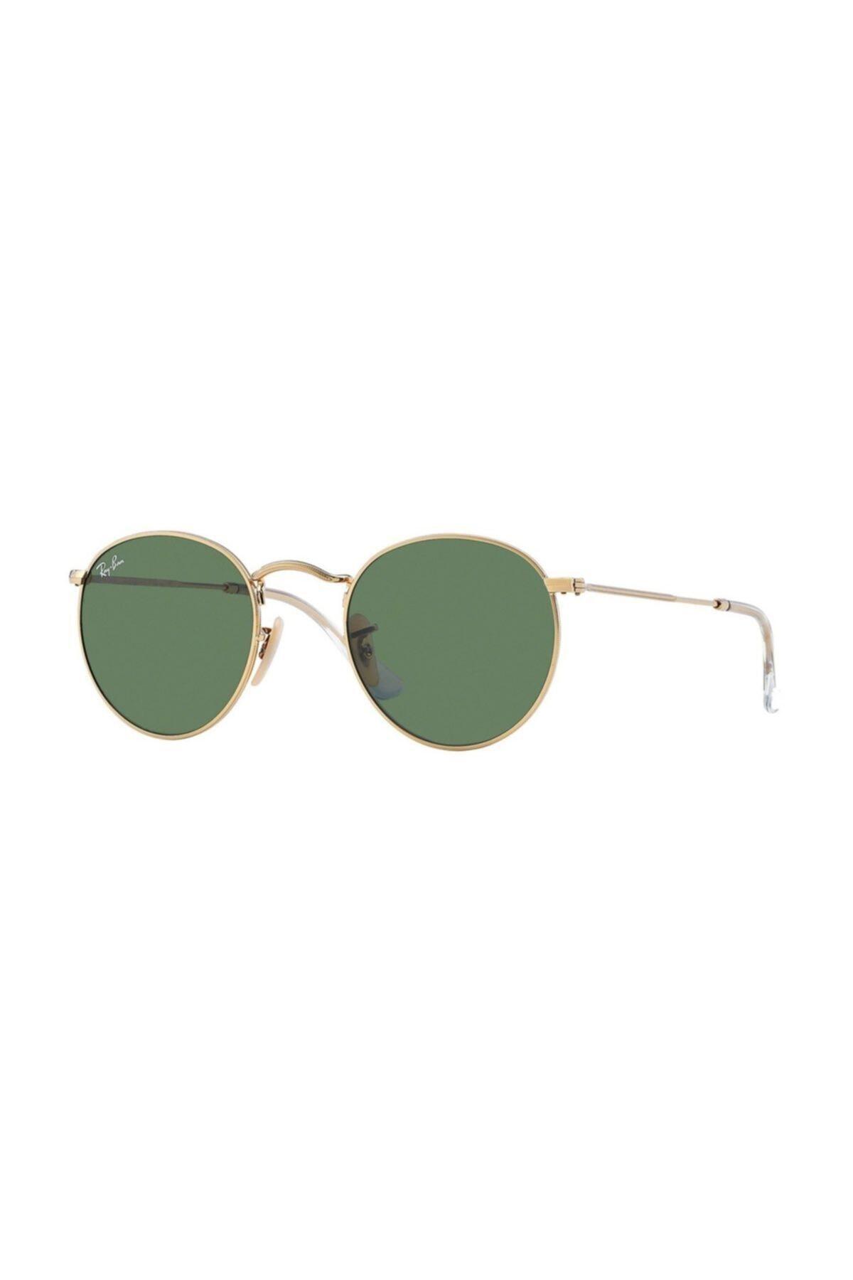 خرید اینترنتی عینک آفتابی خاص مردانه برند ری بن رنگ طلایی ty34975636